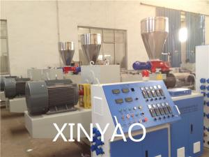 160-250mm pvc pipe extrusion line,pvc pipe extrusion die,conical twin screws extruder