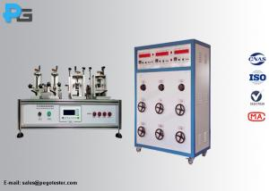 China 50Hz IEC60884-1 Switch Plug Socket Tester Outlet Life For Breaking Endurance Testing on sale