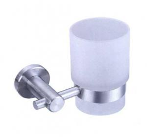 China satin stainless steel wall mounted tumbler holders on sale