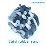 factory directly stock butyl tape waterproof construction 2x25mm 3x30mm black OEM double side