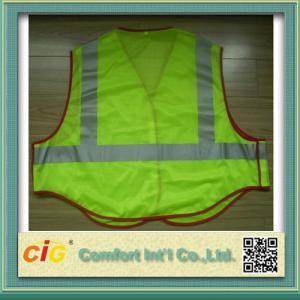 China La seguridad reflexiva de la Alto-visibilidad del poliéster concede Clohting con estándar de EN20471 y del CE on sale