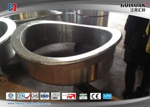China ステンレス鋼の溶接首を荒い機械化造る大規模はフランジを付けたようになります on sale