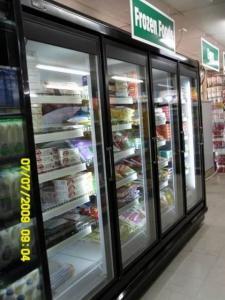 China Supermarket Refrigerated Showcase on sale