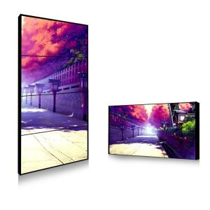 China Sun Readable Outdoor Thin Bezel Lcd Video Wall Hire Solution 450cd 750cd Brightness on sale