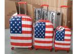 4 Wheel PC Luggage Suitcase Bag Set Normal Combination Locked Hard Case
