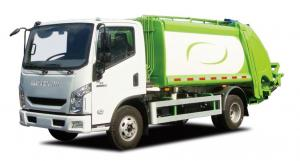 China 2.79L Displacement Waste Management Recycling Truck Automated Trash Truck Easy Control on sale
