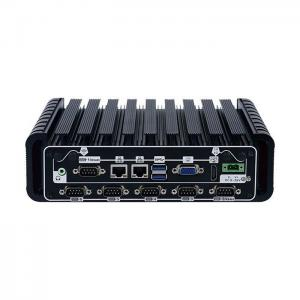 China Aluminum Alloy Wide Voltage 9V-36V Industrial Mini Box PC With 10COM Optional on sale