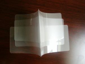 China OEM PET Glossy Transparent Laminating Pouch Film with Multiple Extrusion for photo on sale