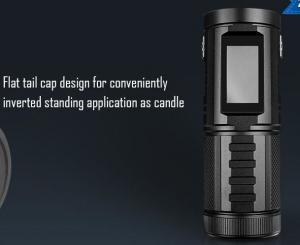 China CREE Best High Lumen Tactical Flashlight296g Light Weight 2.8 - 8V Work Voltage on sale