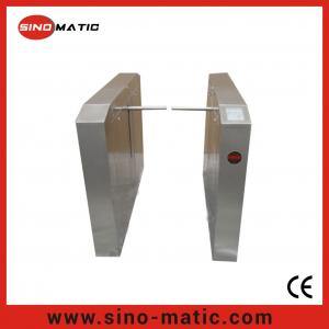 China Stainless Steel Crowd Control Access Control System Automatic Drop Arm Barrier on sale