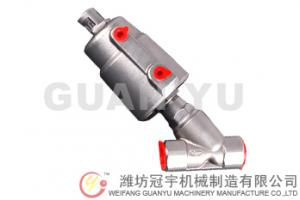 China Stainless steel angle seat valve DN10-DN50 on sale
