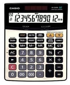 Npr calculators dj-220d | dj-240d.