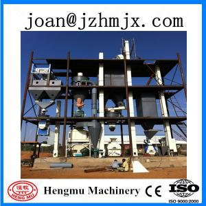 China 8T/h large capacity animal feed pellet production line on sale