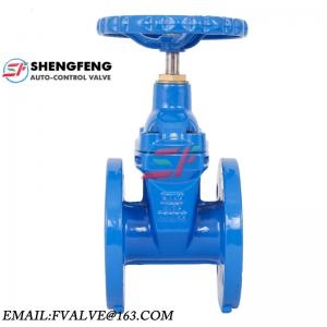 China ductile iron DN100 water gate valve on sale