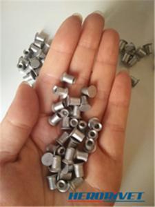 China Carbon Steel Flat Head Semi Tubular Rivet 5.3*6/7/8/9/10MM on sale