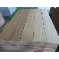 russian White Oak engineered flooring, natural color, brushed surface, ABC grade, popular in Korea