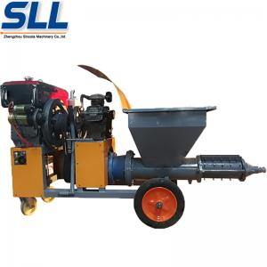 China Diesel High Speed Concrete Spraying Machine Small Volume For Construction on sale