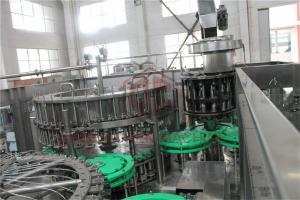 China Automatic Glass Bottle Juice Filling Bottling And Sealing Machine For 750ml on sale