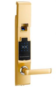 China Delux high-end security access touch screen digital smart fingerprint condo lock on sale