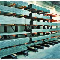 China Single Double Sided Cantilever Racking System For Steel / Wood Planks on sale