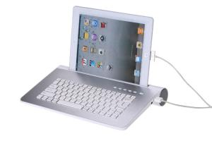 China Bluetooth Keyboard Speaker,Bluetooth Keyboard for iPad and Android Tablets on sale