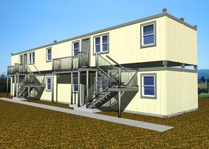 China Double Deck Villa Large Container Homes Easy Installation With All Facilities on sale