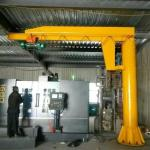 Attractive And Durable Excellent Quality BZD Type 1500Kg Jib Crane for Your Need