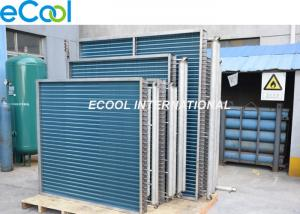China Stainless Steel Custom Finned Coil Heat Exchanger For Evaproator Condenser Radiator on sale