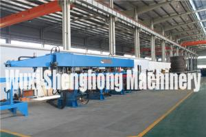China Hydraulic Steel Deck Roll Forming Machinery Steel Bar Truss Welding Machine on sale