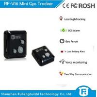 China Best buy gps key tracker elderly with sos button personal tracker rf-v16 on sale