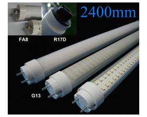 China 2400mm LED Tube Light Fixture, 720 pcs SMD3528 Epistar Everlight Led T8 Tube Lights Meeting Room Lighting on sale