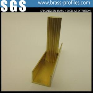 China High Density Extrusion Brass Rod / Extruded Copper Alloy Rod on sale