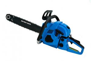 China Air Cooling Gas Powered Chain Saw With Dual Metal Blade 600mm Length on sale