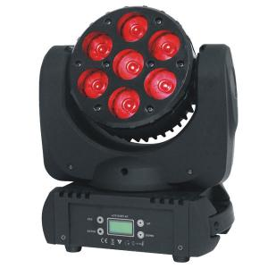 China 7 x15w RGBW 4 in1 High Brightness Beam Moving Head Light Led Disco Light on sale