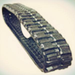 China Big Type Black Rubber Tracks 420*100*50 for Brand Dumper truck on sale