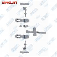 China 123211  6 in charge / 27MM soft van van trailer environmental galvanized rear door lock on sale