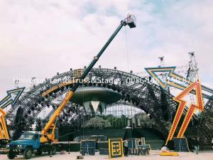 China Circus Aluminum Spigot Truss Stage Lighting Scaffolding For Event , Outdoor Concert , Party on sale