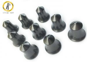 China Road Digging Tungsten Carbide Tips Blanks / Grinding Surface Wear Resistance on sale