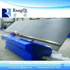 China Insulating Glass Making Machine/Double Glazing Equipment Semi-automatic Aluminium Frame Spacer Bar Bending Machine on sale