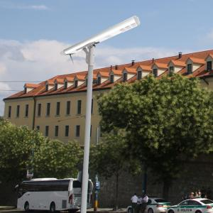 China Outdoor Integrated Smart Solar Street Light Management System Lithium Battery 120W on sale