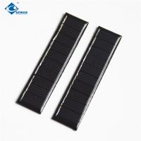0.2 Watt 5V For Small Solar Power Supply ZW-8120 Light Weight Silicon cheapest solar panel photovoltaic for DIY toy