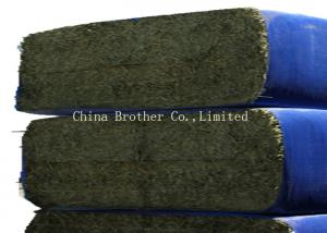 China Virgin PP Woven Custom Hay Bale Covers For Packing Hay , UV - Treated on sale