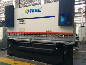 China Aluminum CNC Press Brake Bending Machine Automatic Folding 250 Ton With 3 Axis on sale
