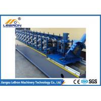 China PLC Control Steel Door Frame Machinery 32Mpa Yield Strength 7.5kW Main Motor Power on sale