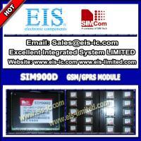 China SIM900D - SIMCOM - Quad-band 850/900/1800/1900MHz GSM/GPRS module SMT- sales009@eis-ic.com on sale