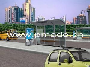 China bus stop advertising shelter on sale