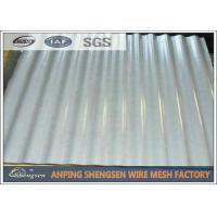 China Galvanized / Power Coated Steel Corrugated Sheets Cold Rolled High - strength on sale