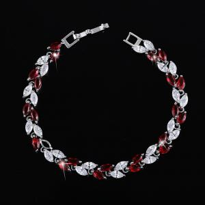 China Custom crystal diamond bangle gift for girlfriend fashion bracelet on sale