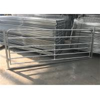 China Hot Dipped Galvanized Heavy Duty Cattle Gates , Metal Livestock Gate on sale