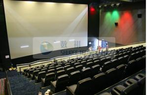 China Pneumatic / Hydraulic / Electronic Control 4D Motion Cinema with removable theater seats on sale